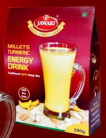 Millet Enrgy Drink with Dry Fruits