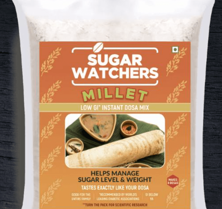 Instant Dosa Mix by Sugar Watchers