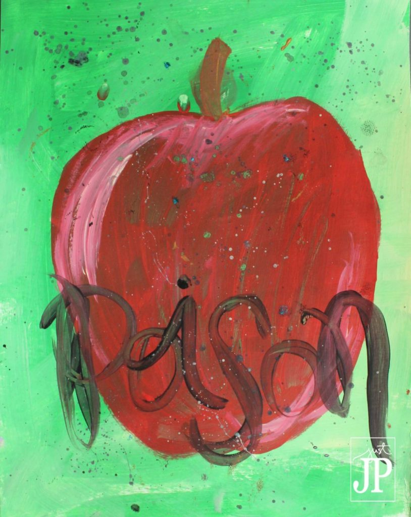 Poison Apple - DISNEY Inspired - Painted by JPriest wm