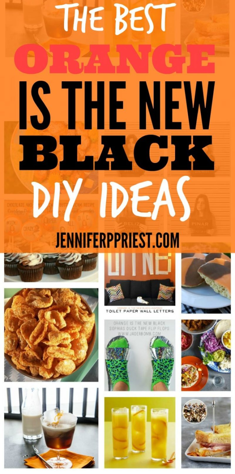 The Best Orange Is the New Black DIY Ideas - jenniferppriest.com