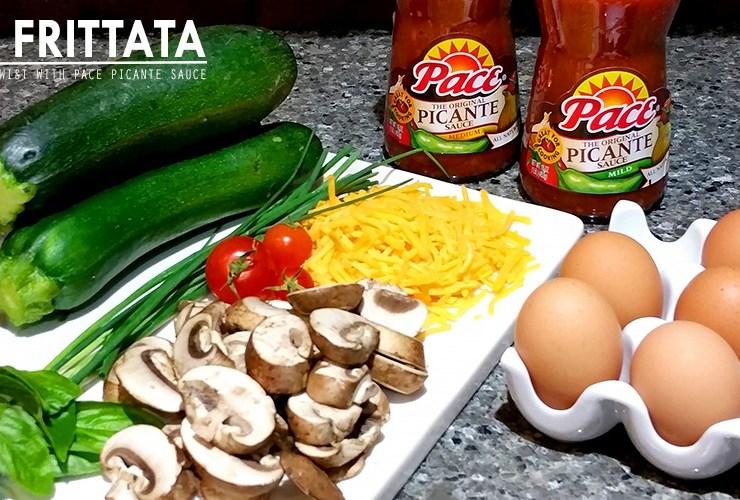 YUMMY Paleo Zucchini Frittata Benedict Florentine with Pace Picante #StockUpOnPace