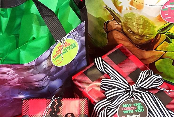 Star Wars Printable Gift Tags – Printing the Holidays Blog Hop #PrintingTheHolidays