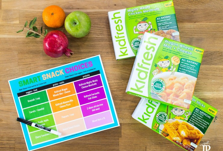 Mom Hack: Printable Snack Chart for Back to School