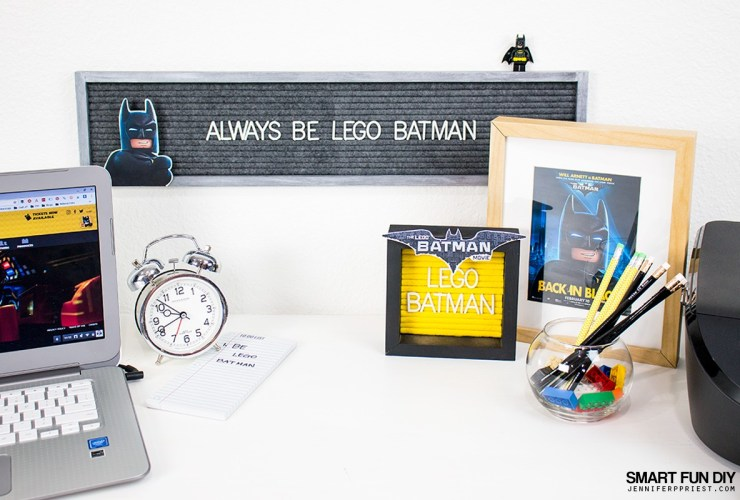 LEGO Batman Movie Kids Felt Letter Board