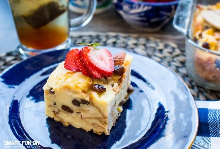 The Yummiest Easy Bread Pudding Recipe with Yogurt