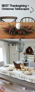 The Best Thanksgiving and Christmas Tablescapes ever #tablescapeideas #Thanksgiving #Christmas2017 #Christmas2018!!