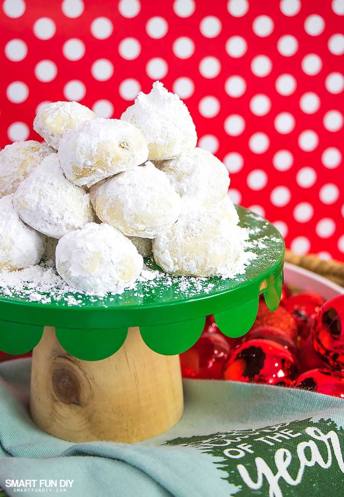 Mexican Wedding Cakes Recipe Or Russian Tea Cookies