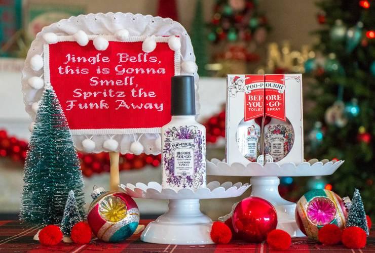"""""""Jingle Smells"""" Naughty Cross Stitch Pattern"""