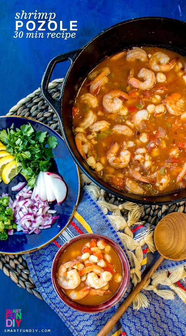 Easy Shrimp Pozole Recipe