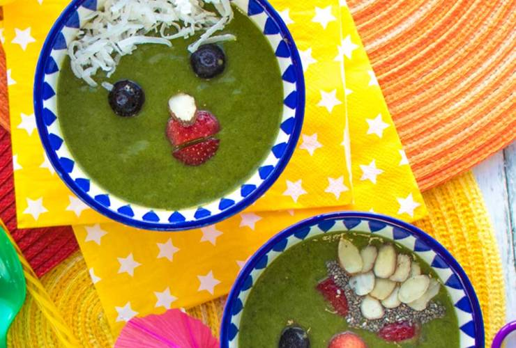 After School Snack – Kids Smoothie Bowl Recipe