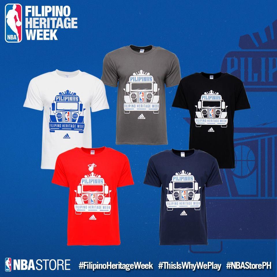NBA Filipino Heritage Week 2017 Gilas Pilipinas