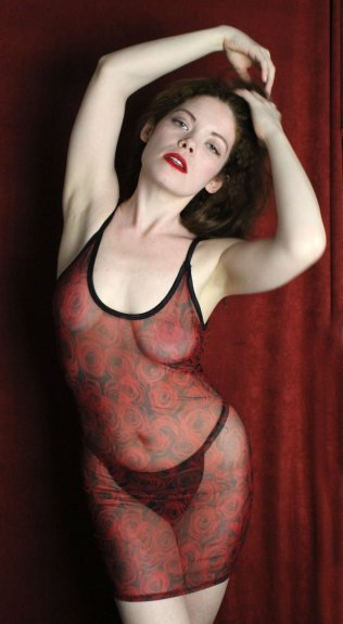 See-through mesh lingerie dress from SmartGlamour