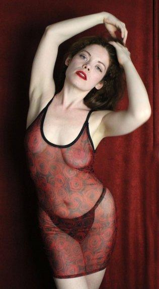 See-through mesh lingerie dress from SmartGlamour