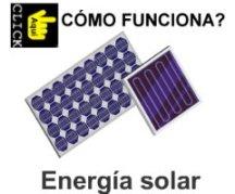 Cómo funciona la energía solar