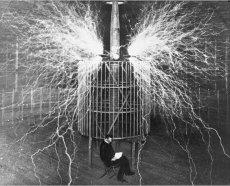 Nikola Tesla Inventor Paneles Solares Colector  Energías Radiantes Radiancia