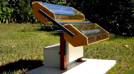 En Argentina una heladera funciona con energía solar