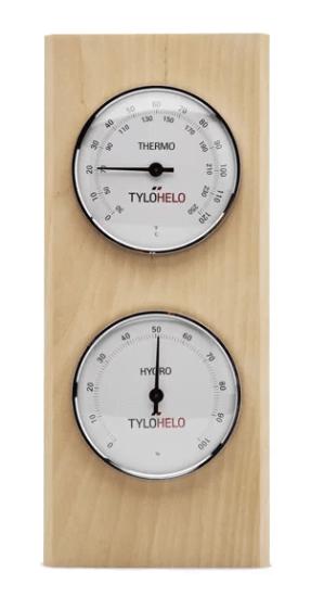 BastutermometerHygrometer Tylö Classic 90152813 Smarthem.se