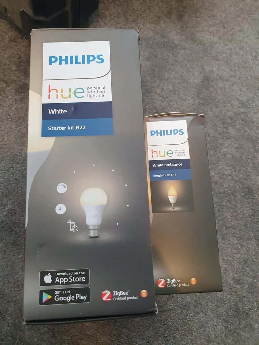 difference between philips hue white