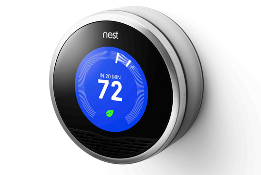 Nest Thermostat Adds Hot and Cold Alerting