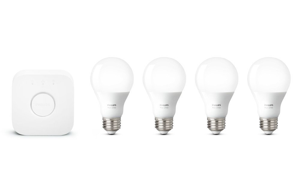 Huge Sale on Philips Hue 4-bulb Starter Kit