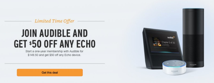Get $50 Off ANY Echo