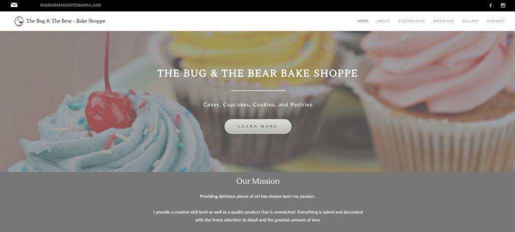 bug and bear bake shop
