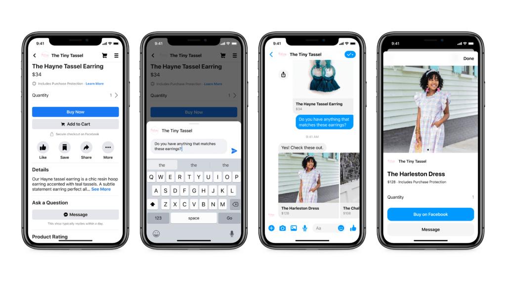 Messenger for Facebook Shops
