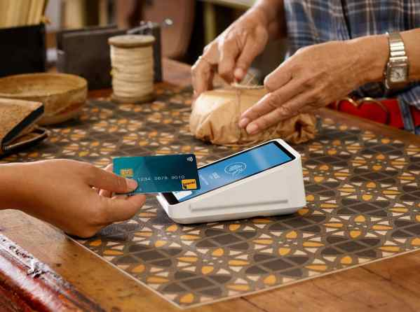 self-ordering system for restaurants square terminal card tap