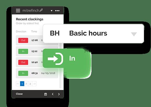 Remote Workforce Management - mitrefinch app