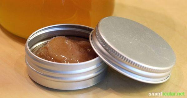 Pflegender Weihnachts-Lippenbalsam mit Honig