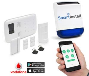 Smart Home Alarm System Installed