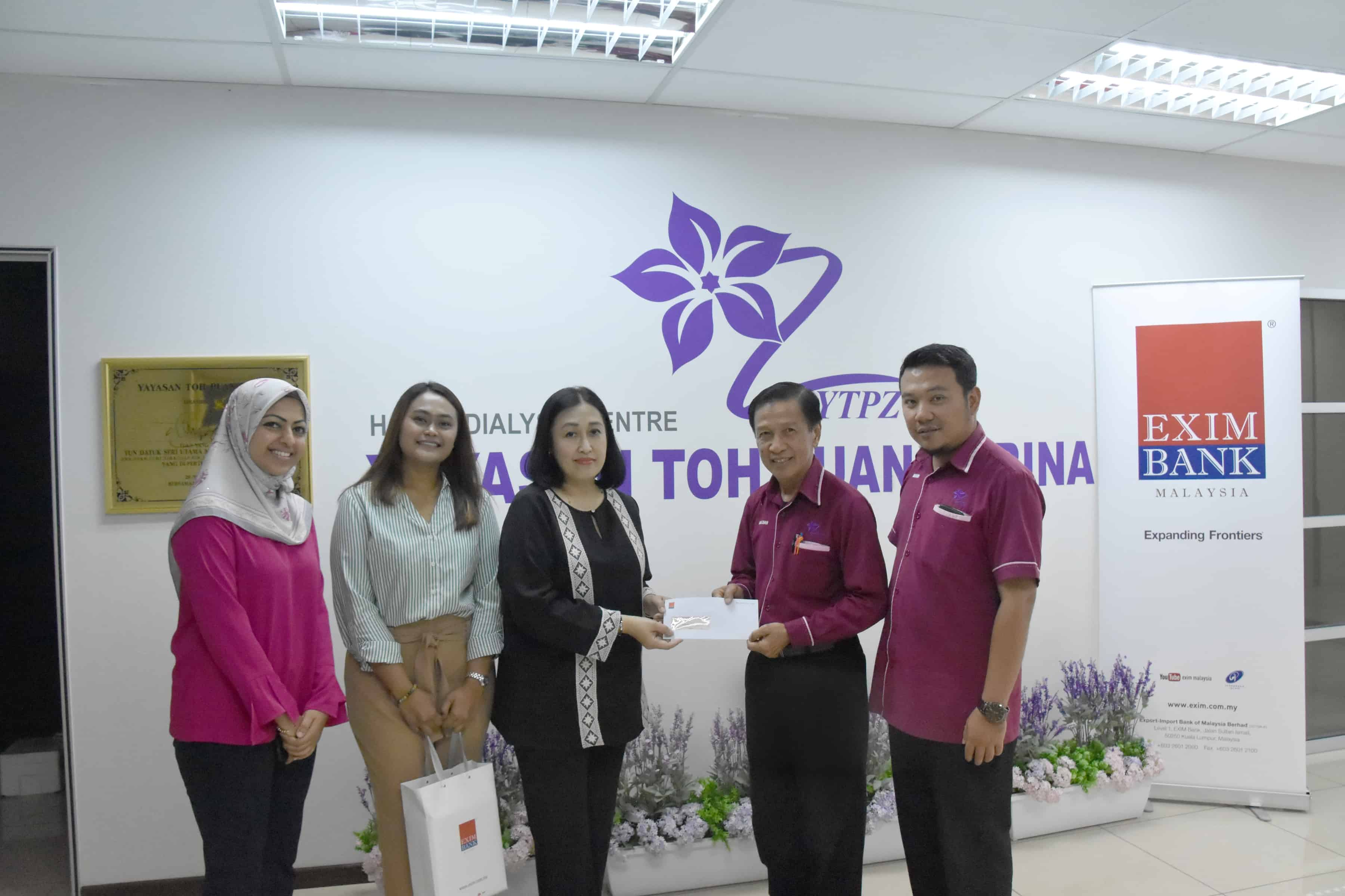 EXIM Bank Gives Back To The Community