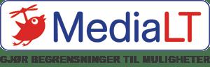 Logo MediaLT: Gjør begrensninger til muligheter.