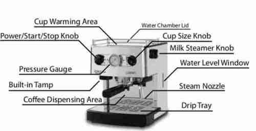 Fully Automatic Espresso Machine Image