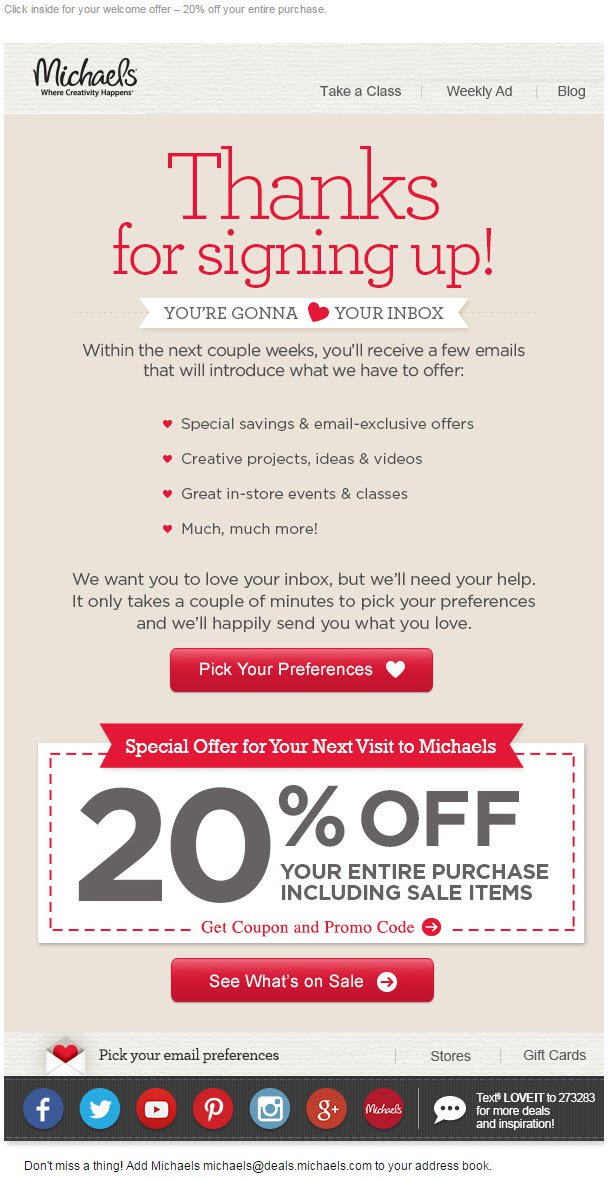 28 Email Examples To Inspire Your Email Marketing Strategy