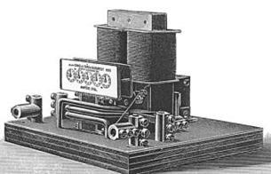 1889, electromechanical, meter, analog