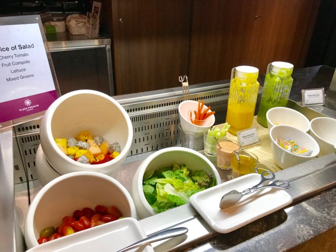 Plaza Premium Lounge, Siem Reap, Salad Station