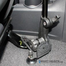 RAM-316-HD-202U – RAM Universal No-Drill RAM POD HD Vehicle Mount