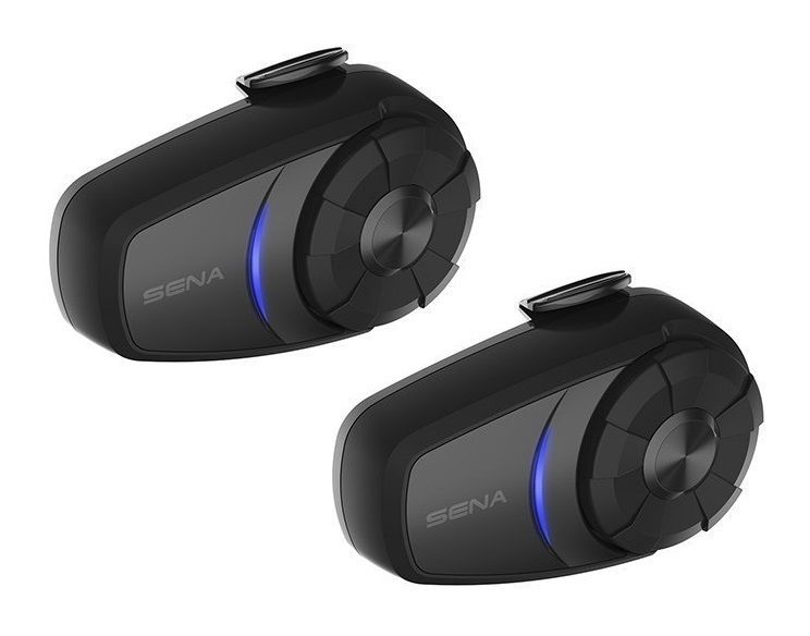 TWIN PACK - Sena 10S Motorcycle Bluetooth Communication System