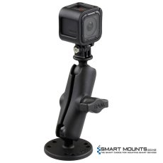 "RAM Flat Surface 1"" Ball Mount with Custom GoPro® Hero Adapter"