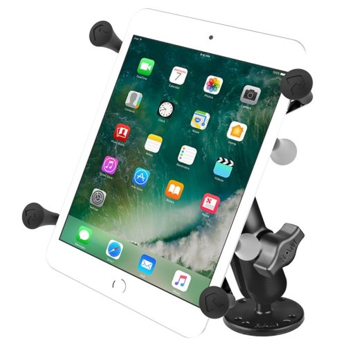"RAM Flat Surface Mount with Universal X-Grip® Cradle for 7""-8"" Tablets"