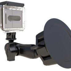 RAM Twist-Lock™ Suction Cup Mount with Custom GoPro® Hero Adapter
