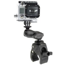 RAM Small Tough-Claw™ with Short Arm with Custom GoPro®/Action Camera Adapter