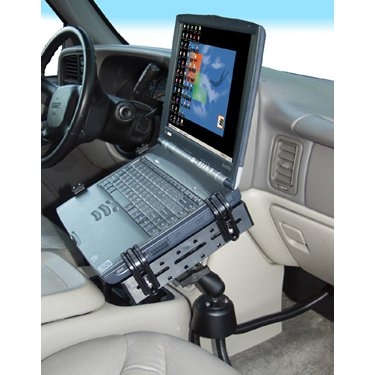 RAM POD III Laptop Mount with Tough Tray and ball and socket arm