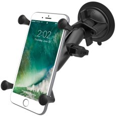 RAM Twist-Lock™ Suction Cup Mount with Universal X-Grip® Large Phone/Phablet Cradle