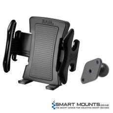 RAM Medium Size Universal Spring Loaded Cradle for Cell Phones, iPhones & iPods