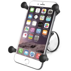 RAM EZ-ON/OFF™ Bicycle Mount with Universal RAM® X-Grip® Large Phone Cradle