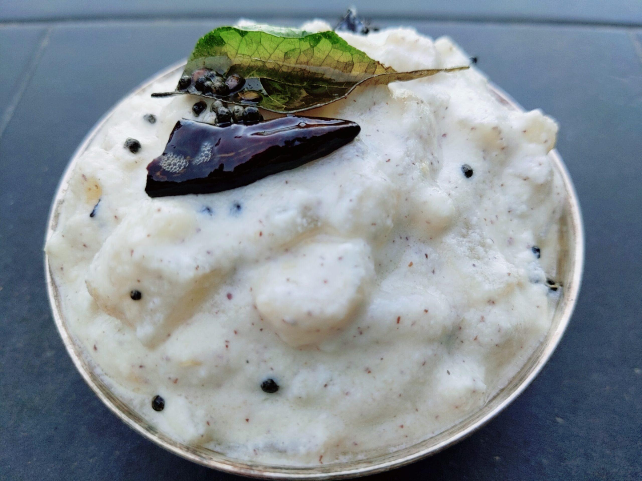 Cucumber Kichadi | Vellarikka Kichadi
