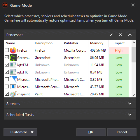 Game Fire 6.5 - Game Mode Optimizer