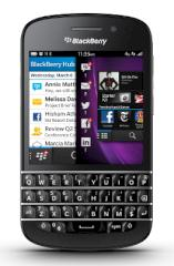 Blackberry Q10 (Foto: RIM)